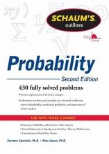 Seymour Lipschutz,   Marc Lipson Schaum`s Outline of Probability, Second Edition