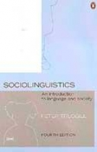 Peter Trudgill Sociolinguistics