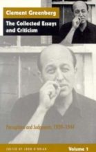 Greenberg, The Collected Essays & Criticism V 1