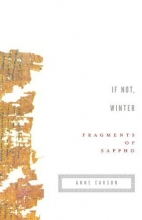 Sappho If Not, Winter