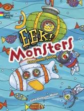 Julie Miner EEK! Monsters Coloring Book