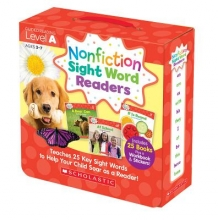 Liza Charlesworth Nonfiction Sight Word Readers Parent Pack Level A