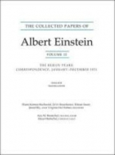 Albert Einstein The Collected Papers of Albert Einstein, Volume 12 (English)