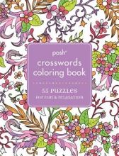 Andrews McMeel Publishing Posh Crosswords Adult Coloring Book