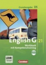 Seidl, Jennifer,   Schwarz, Hellmut English G 21. Grundausgabe D 5. Workbook mit Audio online