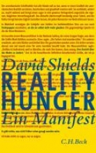 Shields, David Reality Hunger