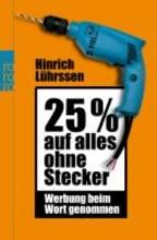 Lührssen, Hinrich 25 Prozent auf alles ohne Stecker