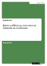 Nathalie Reis Kinder Und Werbung, Auch Schon Ein Thema F r Die Grundschule