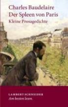 Baudelaire, Charles Der Spleen von Paris