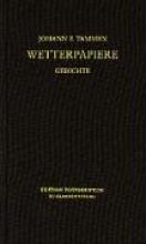 Tammen, Johann P. Wetterpapiere