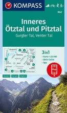 , Inneres Ötztal und Pitztal, Gurgler Tal, Venter Tal 1:25 000