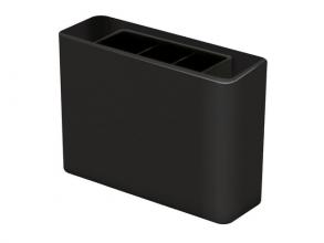 , pennenkoker HAN Smart Line 135x40x98mm 3-vaks zwart