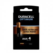 , Batterij Duracell Optimum 4xAAA