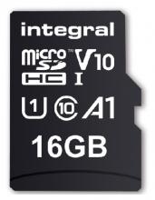 , Geheugenkaart Integral microSDHC V10 16GB