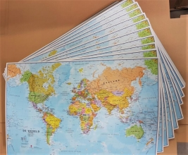 , SET: Muismat wereld 1/60M per 10 stuks