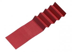 , Ruiterstrook voor Alzicht hangmappen 65mm rood