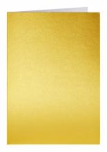 , Correspondentiekaart Papicolor dubbel 105x148mm Goud