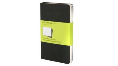 Moleskine Cahiers Plain Black Journal