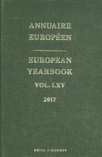 European Yearbook Annuaire Européen Volume 65 2017