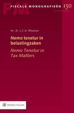 L.C.A. Wijsman , Nemo tenetur in belastingzaken