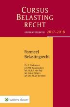 E.  Poelmann, J.H.P.M.  Raaijmakers, W.A.P. van Roij, F.H.H.  Sijbers, M.M. de Werd Studenteneditie Cursus Belastingrecht Formeel Belastingrecht 2017-2018