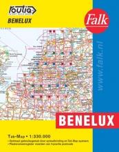 , Falk Autokaart Benelux Routiq