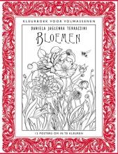 Daniela Jaglenka  Terrazzini Kleurboek voor volwassenen - Bloemen