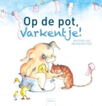 Martine van Nieuwenhuyzen Op de pot, varkentje