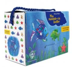 Marcus  Pfister Mijn mooiste vis koffer. Koffertje met 3 kartonboekjes over De mooiste vis van de zee