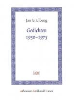 Jan G.  Elburg Gedichten 1950-1975