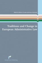 , Traditions and Change in European Administrative Law