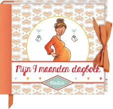Pauline Oud , Mijn 9 maanden dagboek - Pauline Oud