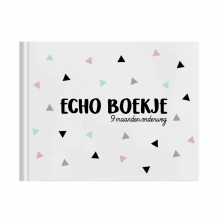 Sanne van der Veer Echo boekje