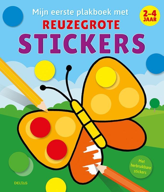 ZNU,Mijn eerste plakboek met reuzegrote stickers 2-4 jaar