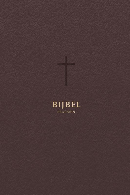 ,Bijbel (HSV) met psalmen - met goudsnee