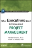 International Institute for Learning,,What Executives Need to Know About Project Management