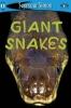 Simon, Seymour,Giant Snakes