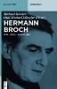 Hermann Brochs Gesamtwerk,Neue Studien und Berichte