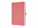 ,notitieboek Sigel Jolie Impress A5 hardcover gelinieerd     `Salmon Pink`