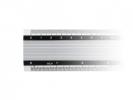 ,<b>Liniaal M+R 1850 500mm aluminium</b>