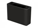 ,pennenkoker HAN Smart Line 135x40x98mm 3-vaks zwart