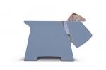,Stay! Doggy Book Rest - Grey Plaid