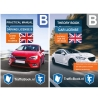 ,<b>Auto Theorieboek Engels 2019 - Traffic Manual English Car Theory Book + Practical Book</b>