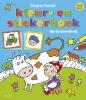 Superleuk kleur- en stickerboek,op de boerderij