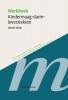 ,Werkboeken Kindergeneeskunde Werkboek Kindermaag darm leverziekten, derde druk