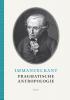 <b>Immanuel  Kant</b>,Pragmatische antropologie