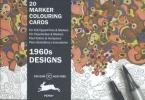 Pepin Van Roojen ,1960s Designs - MARKER COLOURING CARDS