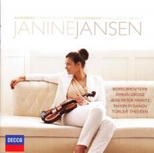 janine Kvj jansen, Cd schubert /schonberg string quartet /verklarte nacht