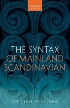 Jan Terje Faarlund The Syntax of Mainland Scandinavian