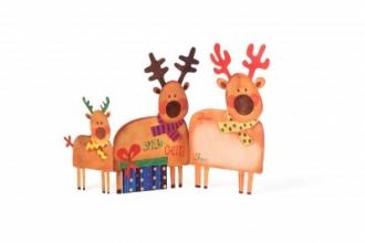 Christmas Deer Tri-Fold